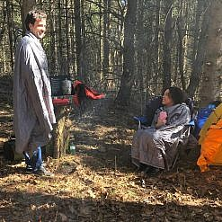 Photo of Man and Woman with Camping Blankets