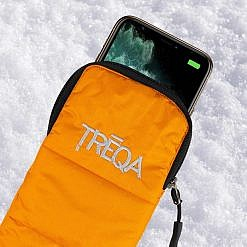 Arctic Thermal Phone Case in Orange