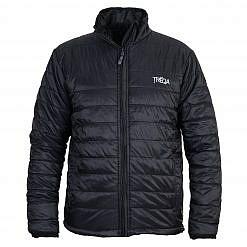Men Khumbu Insulated Jacket Black - Front View